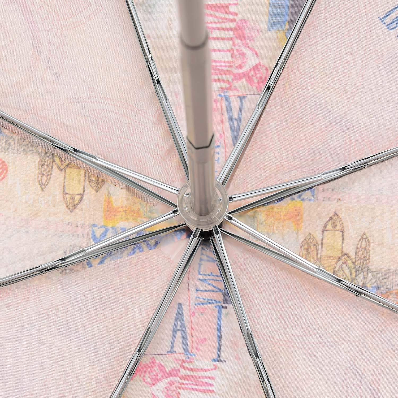 Anekke Woman Ombrello Open-Close 28870P2 Antivari in alluminio automatico anti vento Misure U Colore BEIGE