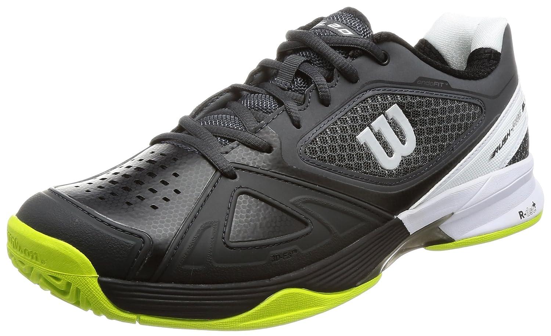 [ウイルソン] テニスシューズ  WRS323610U045 B0721PCW6Z 29.0 cm 2E エボニーxブラックxライムパンチ