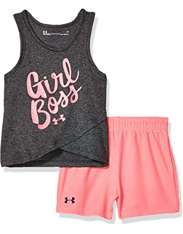 ce9aca4567e4 Under Armour Girls' Tank and Short Set