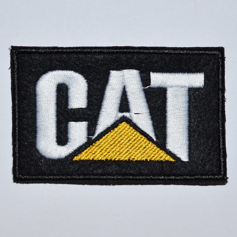 Parche de red Logo Cat Caterpillar Embroidery de coser 7,5 x 4,5 ...