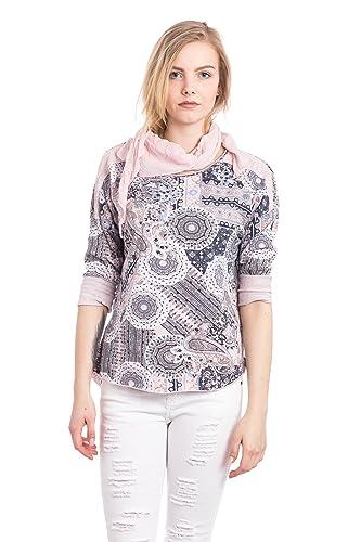 Abbino 200-05 Camisas Blusas Tops Para Müjer - Hecho EN Italia - 4 Colores - Verano Otoño Invierno E...