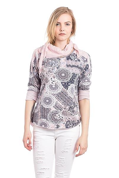 Abbino 200-05 Camisa Blusa Top para Müjer - Hecho en ITALIA - 4 Colores