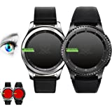 3 x Proto Max Film de protection d'écran pour Samsung Galaxy Gear S3 Classic/Gear S3 Frontier Protection d'écran, film de protection Accessoires Smart Watch/Wearable/Fitness Tracker, Screen Protector, Lot de 3