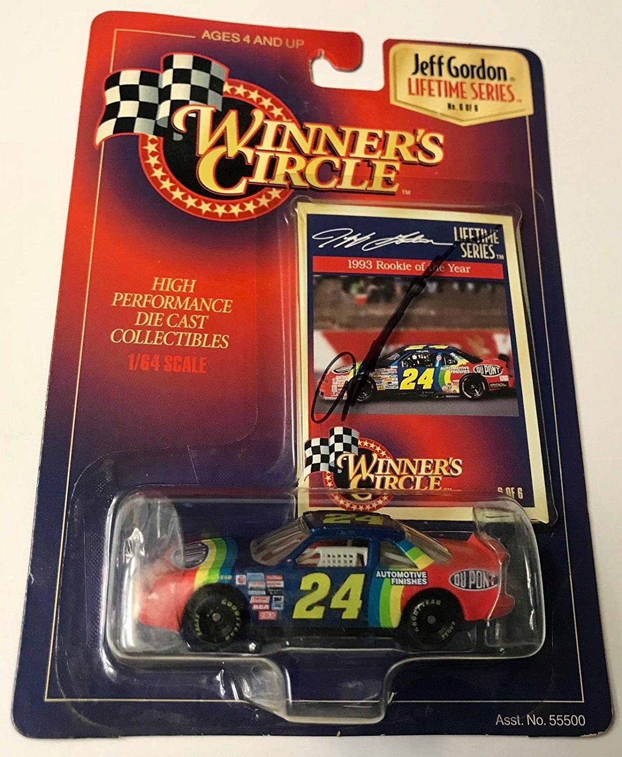1997 Winners Circle Jeff Gordon 1993 Rookie Of The Year
