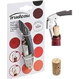 Trudeau Double Lever Corkscrew, Silver