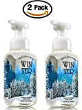 Bath & Body Works Winter Hand Soap - Pack of 2 Winter Scent Gentle Foaming Hand Soaps - Christmas Winter 2015