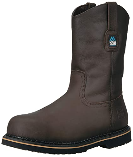 e7ba1626820 MCRAE Men's Mid Calf Boot, Brown-2, 7 M US