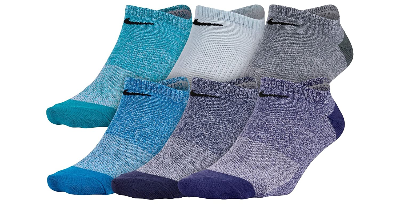 NIKE Women's Everyday Lightweight No-Show Socks (6 Pair)