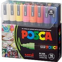 قلم تحديد للرسم من بوسكا - بي سي - 5 ام فائق الدقة 1.8-2.5 ملم، 16 لوناً