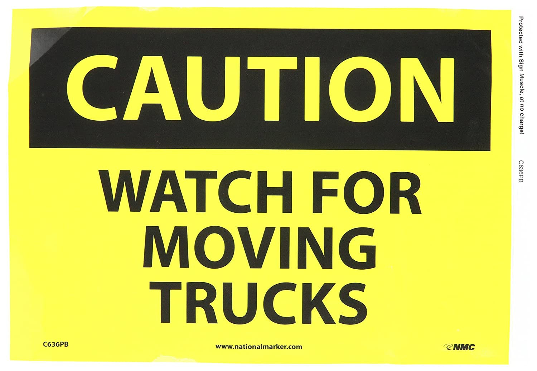 Warning Caution Tractor Pico Sign 600x600mm Aluminium Class 1 Reflective