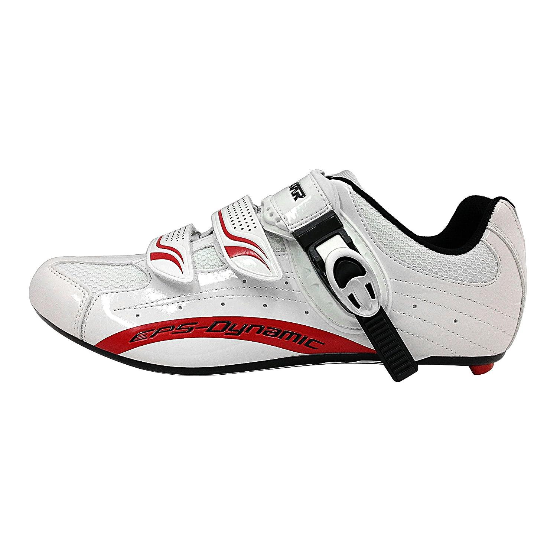 Exustar E-SR403 Road Shoe White Size 42 Cycle Force Group E-SR403-42