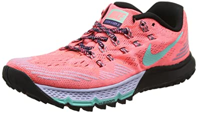 online store db8a4 41fea Nike W Air Zoom Terra Kiger 3, Running Femme, Rouge (Lava Glow