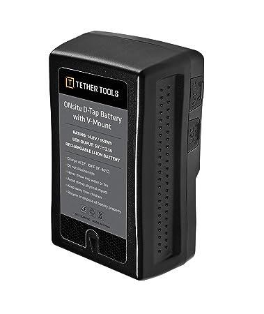 Amazon.com: ONsite D-Tap - Batería con montura en V y ...