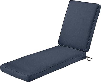 Classic Accessories 62 029 Indigo Ec Montlake Patio Furniture Cushion 80 In L X 26 In W X 3 In T Heather Indigo Garden Outdoor