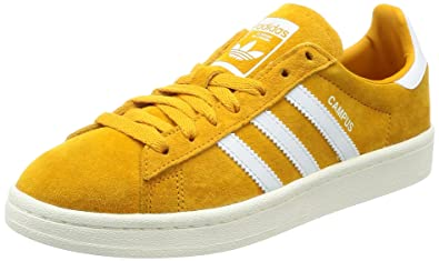 yellow adidas campus