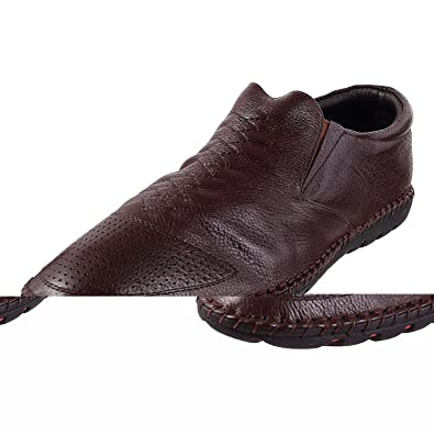342c0f92153 Metro Men s Brown Formal Shoes-7 UK India (41 EU)(19-3603-12-41)  Buy Online  at Low Prices in India - Amazon.in