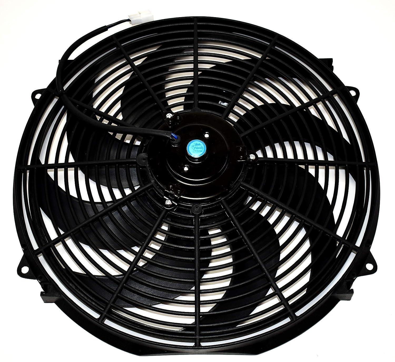 16 Quot Heavy Duty Radiator Electric Wide Curved Blade Fan