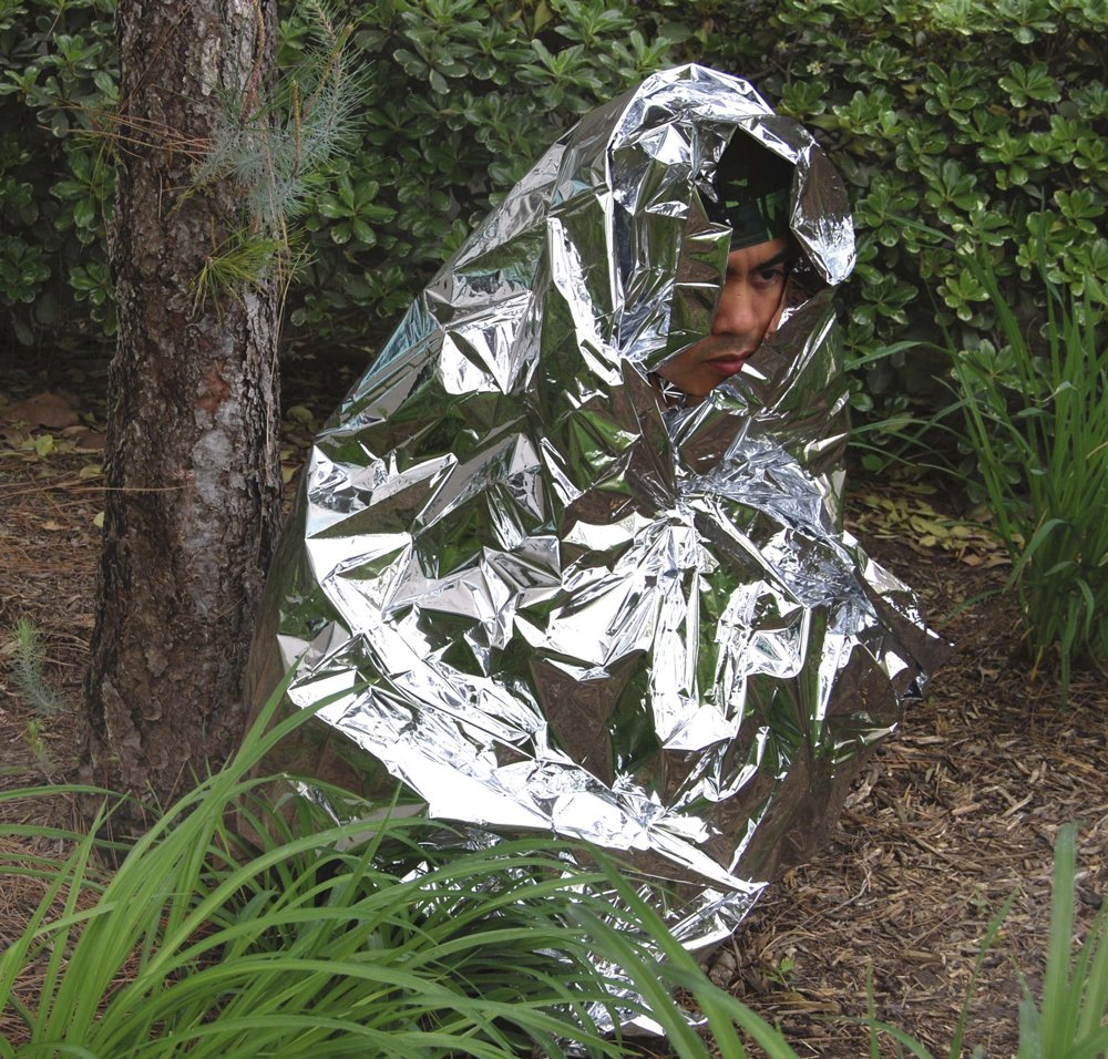 Bug Out Bag ,Marathons or First Aid ANMEILU Emergency Mylar Thermal Blankets -Space Blanket Survival kit Camping Blanket Hiking 4-Pack Perfect for Outdoors Survival