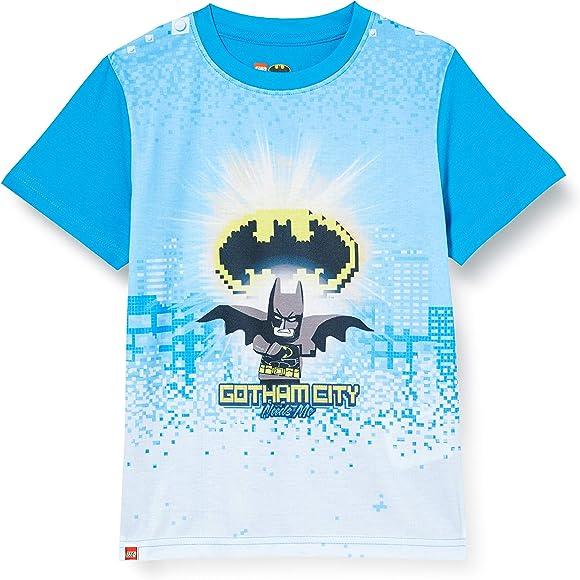 LEGO Cm Batman Camiseta, Azul (Light Blue 532), 104 para Niños: Amazon.es: Ropa y accesorios
