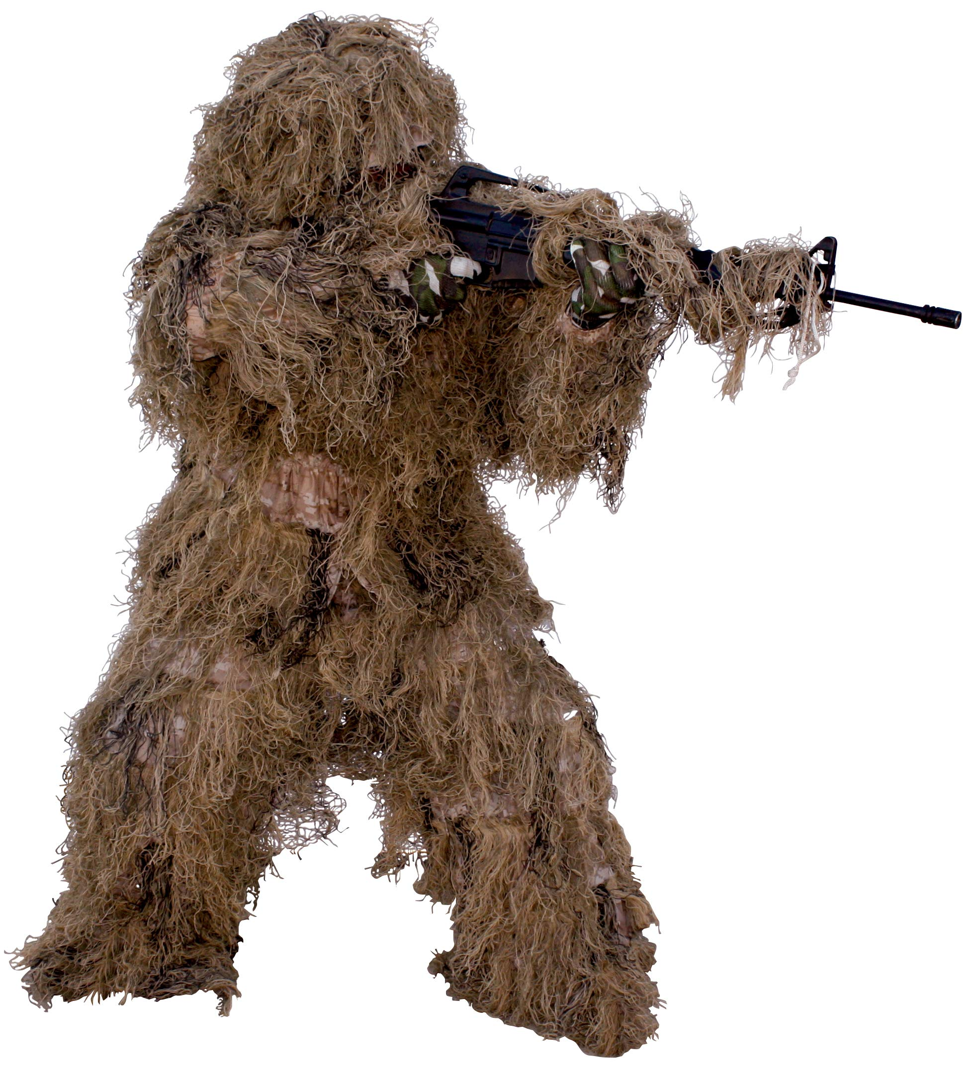 9005381 Red Rock Gear Ghillie Suit 5Piece Desert X-Large/2X-Large by Red Rock Outdoor Gear