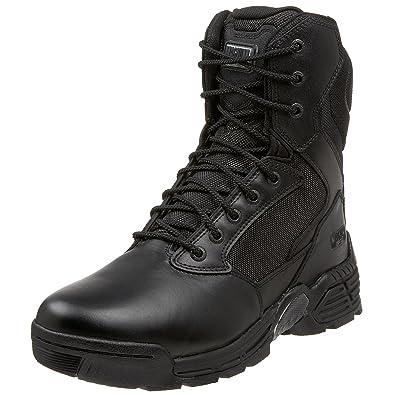 Men's Magnum Stealth Force 8.0 SZ WPI, Size: 8 M, Black Full Grain Leather/Nylon