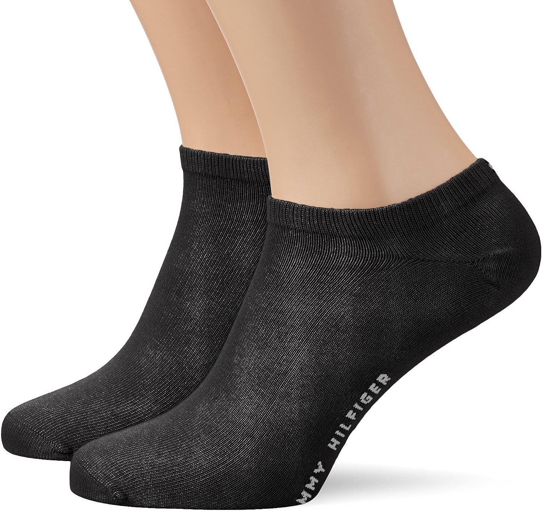 Tommy Hilfiger - Calcetines cortos para hombre 6 pares negro o blanco: Amazon.es: Ropa y accesorios