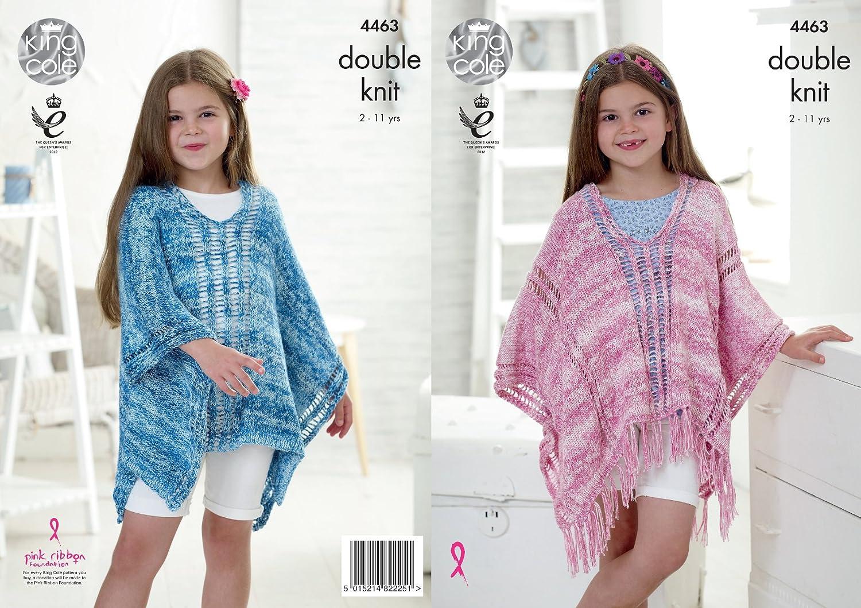 Hats King Cole Girls Jacket Neck Scarf /& Collar Galaxy Knitting Pattern...