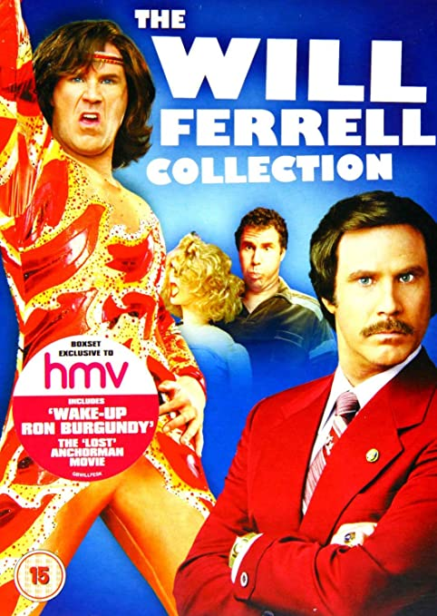 Amazon com: The Will Ferrell Collection [DVD]: Movies & TV