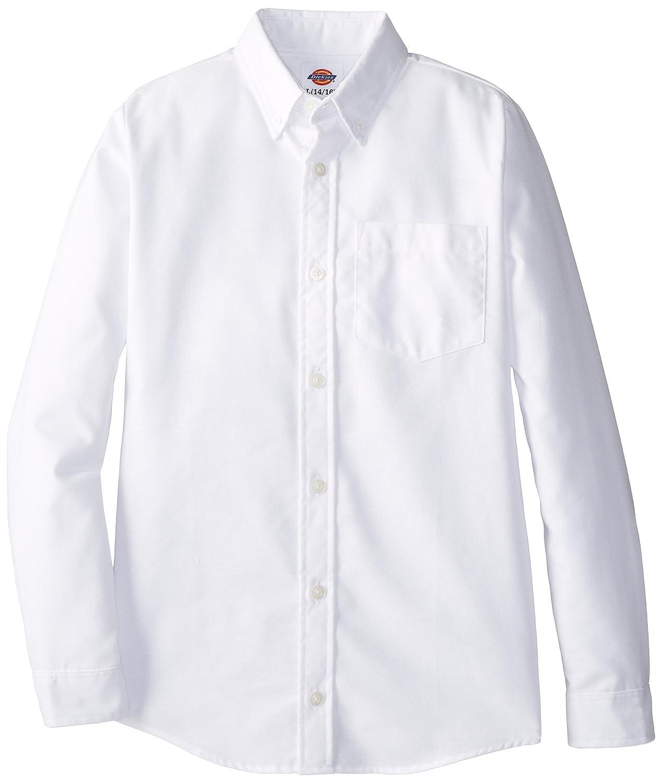 Amazon Dickies Boys Long Sleeve Oxford Shirt School Uniform