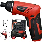 iBELL MS06-16 Cordless Rechargeable Electric Screwdriver 3.6V, 1500mAh Lithium Ion Battery MAX Torque 3.5Nm, 2 Flexible Position and 16 Torque Setting, Front LED and Rear Flashlight- 6 Months Warranty