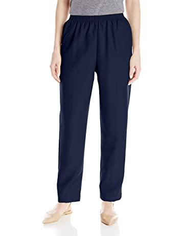 d685319f8dbe Alfred Dunner Women s Petite Poly Proportioned Medium Pant