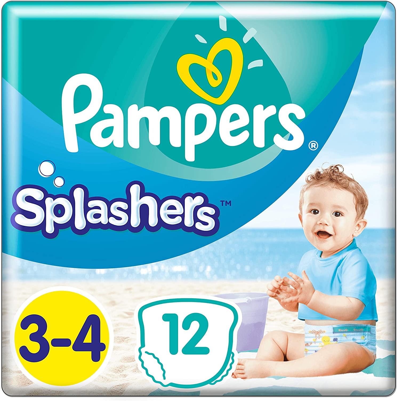 [amazon.de] Pampers Splasher Schwimmhose Carry Pack Größe 3-4, 96 Windeln um 9,06€ anstatt 54€