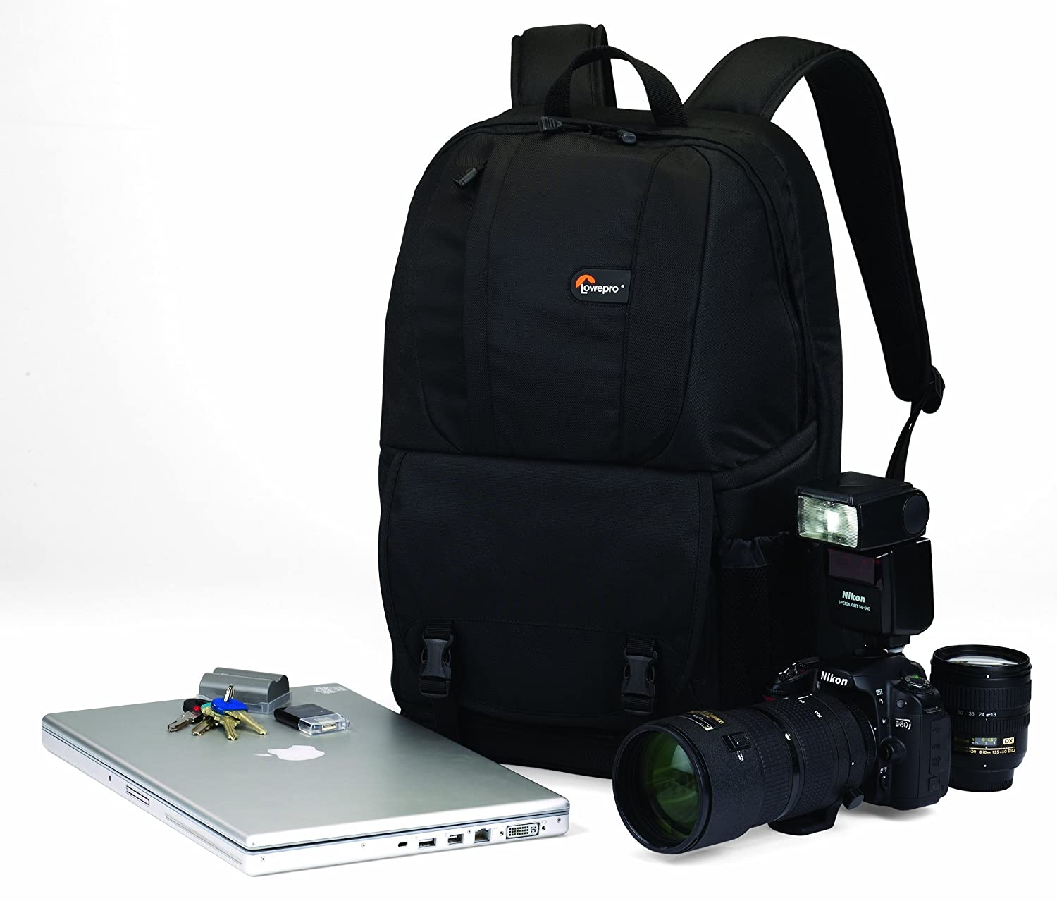 Amazon.com : Lowepro Fastpack 250 DSLR Camera Backpack ...