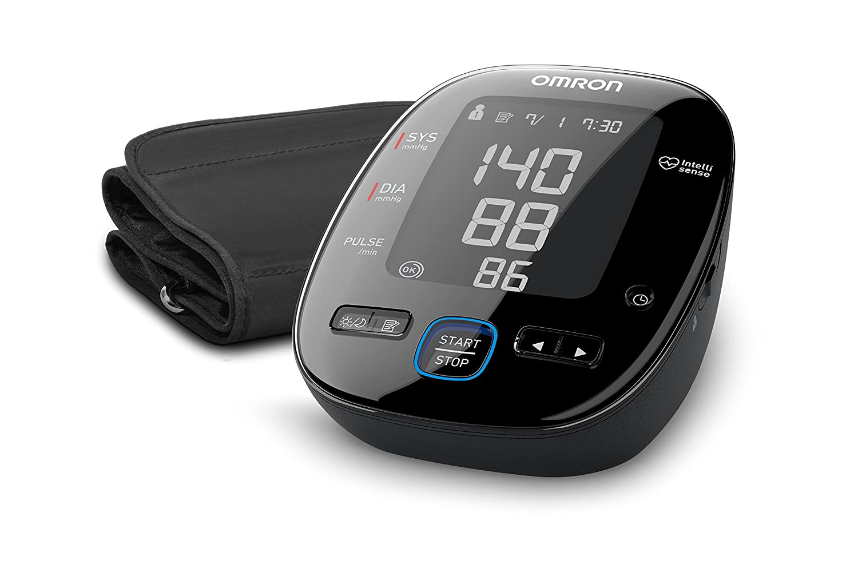Omron MIT5s Connect Oberarm-Blutdruckmessgerät HEM-7280T-E