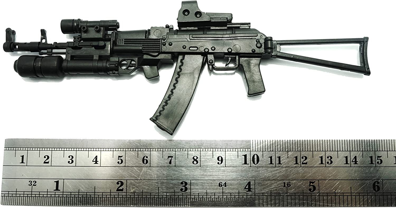 """Free Shipping 4D 1//6 Scale Russia AK-74 assault rifle Weapon Gun for 12/"""" Figure"""