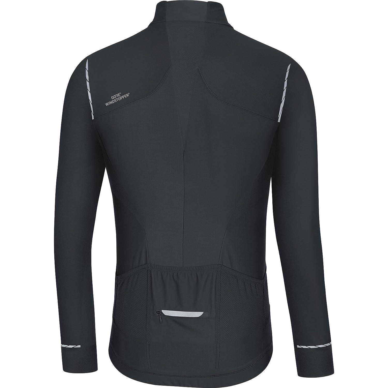 Amazon.com : Gore Bike Wear Mens Oxygen Windstopper Long Sleeve Cycling Jersey - SWOXLM : Sports & Outdoors
