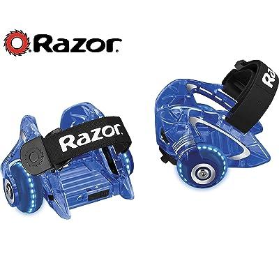 Razor Jetts DLX Heel Wheels - Blue : Sports & Outdoors
