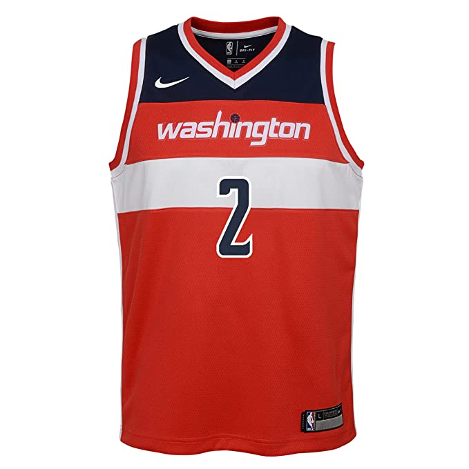 Nike NBA Washington Wizards John Wall 2 2017 2018 Icon Edition Jersey Official Away, Camiseta de Niño: Amazon.es: Ropa y accesorios