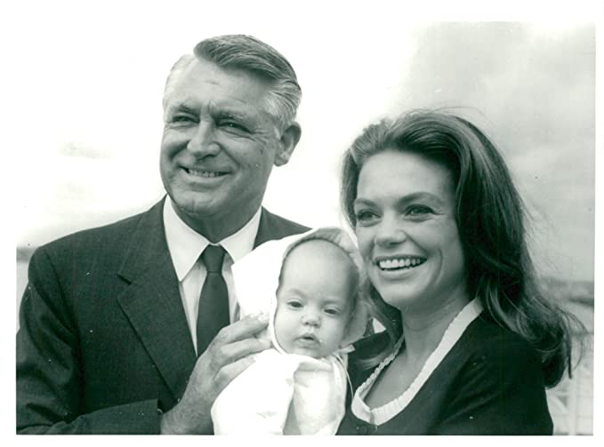 amazon com vintage photo of cary grant with wife dyan cannon and