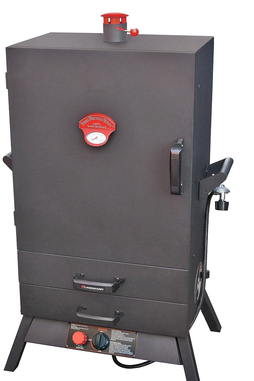 Landmann USA 3895GWLA Smoky Mountain Vertical Gas Smoker, 38-Inch