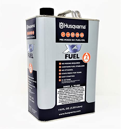 Amazon.com: Husqvarna Husq 2t 50:1 Pm Combustible 48 Gal ...