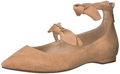 Amazon Brand - The Fix Women's Emilia Double Bow Pointed-Toe Flat