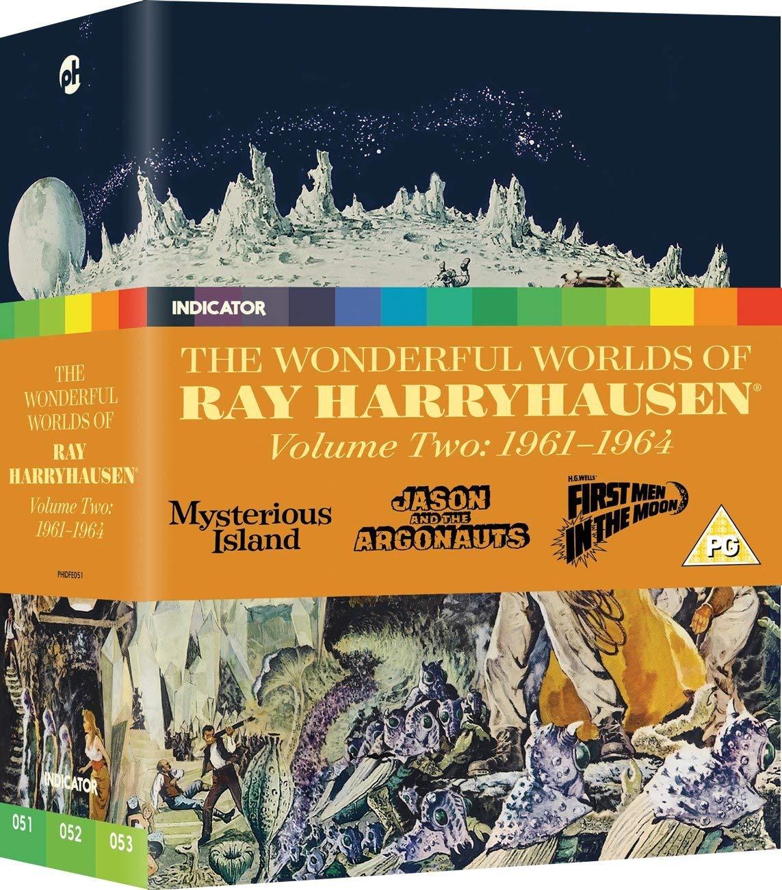 The Wonderful Worlds of Ray Harryhausen - Volume Two: 1961-1964 [Blu-ray]