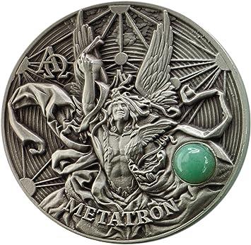 Power Coin Metatron The Choir of Angels 2 Oz Moneda Plata 5 ...