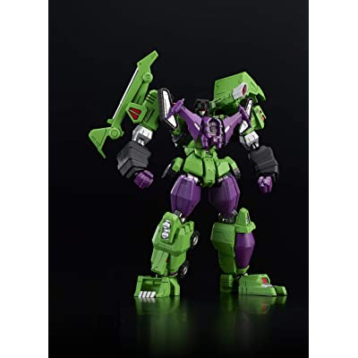 Flame Toys Furai Model Devastator Transformers, Green (FLM51310): Toys & Games