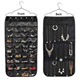 Hanging Jewelry Organizer, Double Sided 40