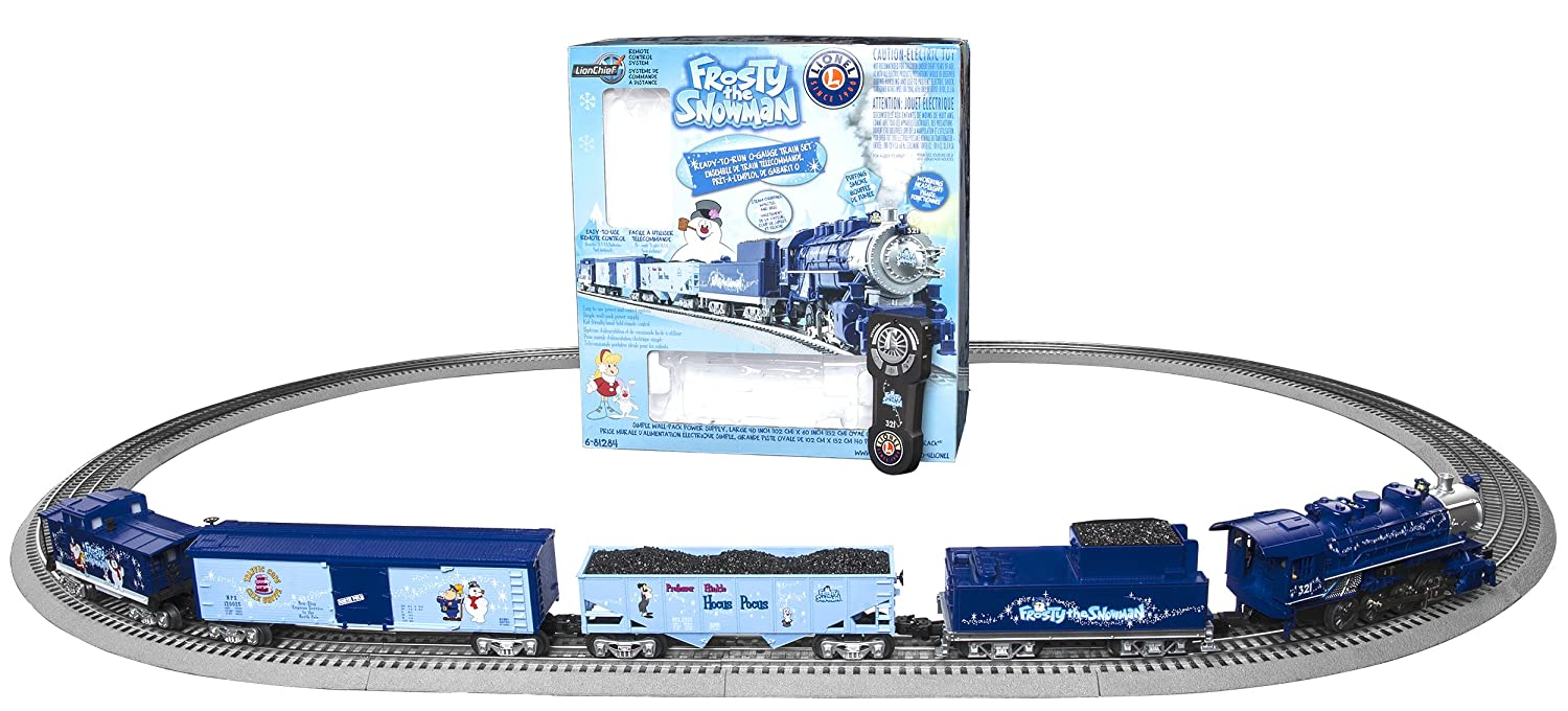 Lionel Trains Frosty the Snowman - Giant Oval Tracks