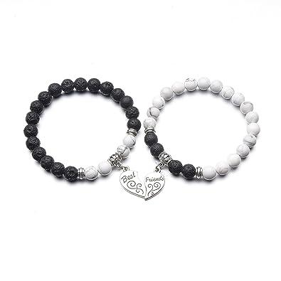 d972fc8a819ec ZHEPIN Best Friend Bracelet,Relationship Bracelets-Love Formed by The  Bracelet Symbolizes Connected Heart
