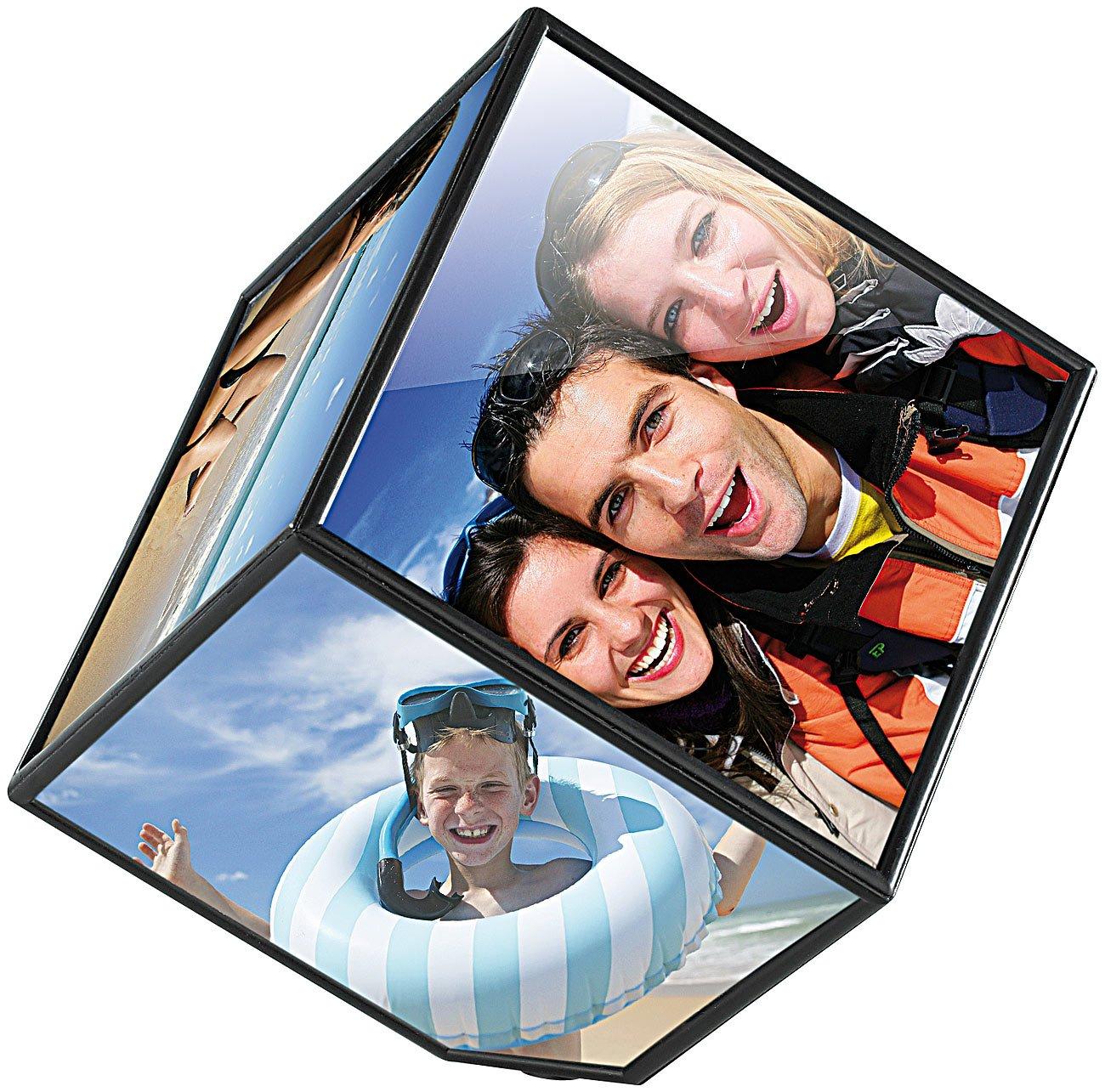 Amazon.de: Your Design Bilderwürfel: Selbstdrehender Fotowürfel für ...