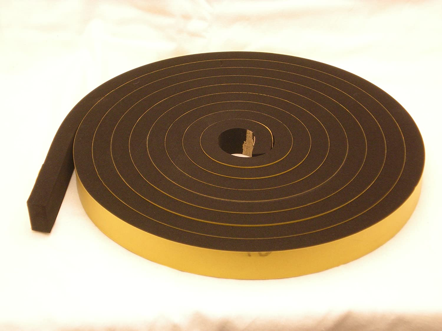 Neoprene Rubber Self Adhesive Strip 25 mm wide x 15 mm thick x 5 m long rubber products